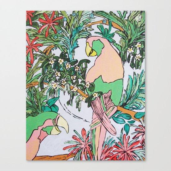 Paradise Pink Canvas Print