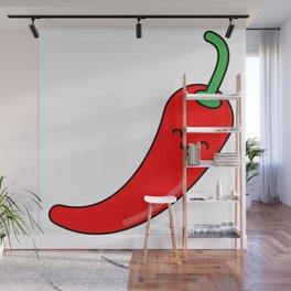 Chili Pepper Wall Mural