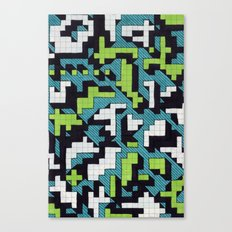 Bad at Tetris Canvas Print