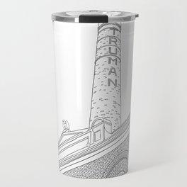London Truman Chimney - Line Art Travel Mug