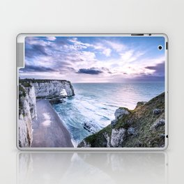Natural Rock Arch -  ocean, coastal cliffs, waves, clouds, Laptop & iPad Skin