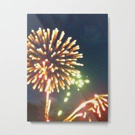 explosions in the sky Metal Print