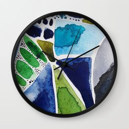Looking Glass Wall Clock