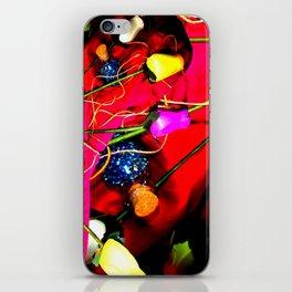 Plastic Flowers 1 iPhone Skin