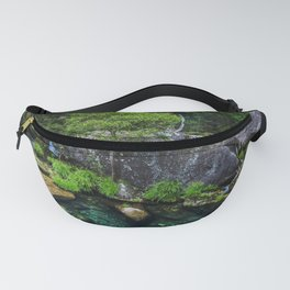 European west mountain river Fanny Pack