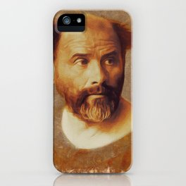 Gustav Klimt, Artist iPhone Case