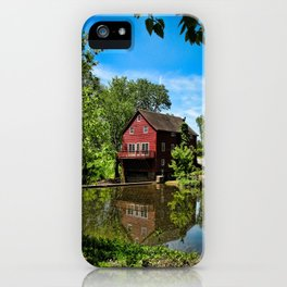 Old Red Grist Mill iPhone Case