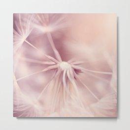 Dream Dandelion Metal Print