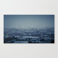 Waking Up Under the Snow Canvas Print