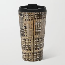 African Antiquities Collection: Shutter of the Degone People Travel Mug