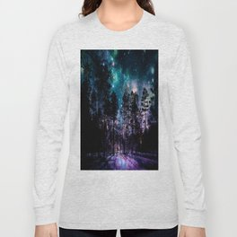 One Magical Night... teal & purple Long Sleeve T-shirt