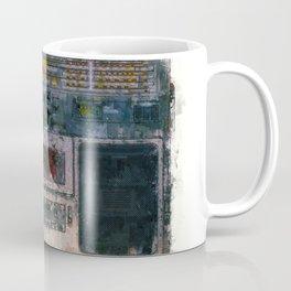 cassette recorder  - painting / illustration Coffee Mug
