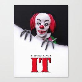 It (1990) Alternative Film Poster Canvas Print