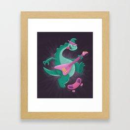 Denver the Last Dinosaur Framed Art Print