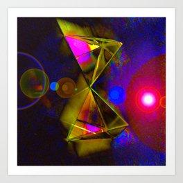 Blackhole Prism Art Print