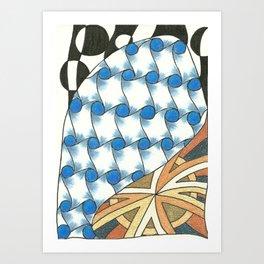 Color Zen Art Print