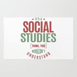 Social Studies Rug