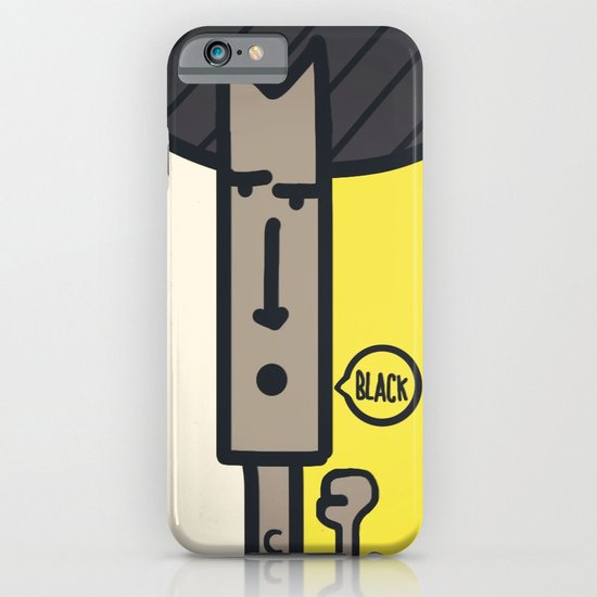 BLACK! iPhone & iPod Case