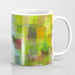 Abstract Grassy Field Coffee Mug