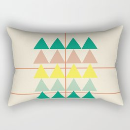 disguise forest || early summer Rectangular Pillow