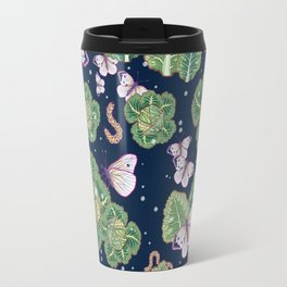 mischief in the garden Travel Mug
