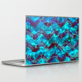Chevron Waves Laptop & iPad Skin