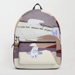 Respect Mother Nature 4 Backpack