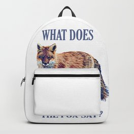 what does Backpack