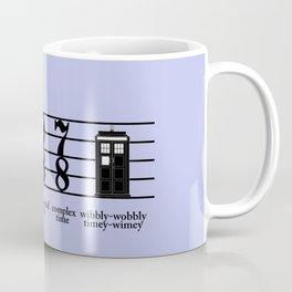 Wibbly-wobbly timey-wimey Coffee Mug