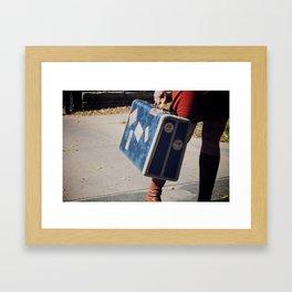 Bags Packed Framed Art Print