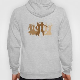 Flamenco Dancers Illustration  Hoody