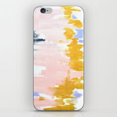 Multicolor spring abstract iPhone & iPod Skin
