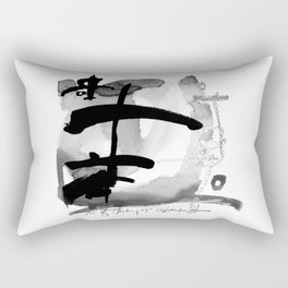 Tao Of Healing No. 29I by Kathy Morton Stanion Rectangular Pillow