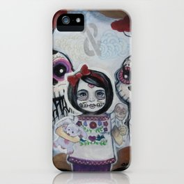 Sugar Skull Song Part 2: Lola y Lolo 2011 iPhone Case