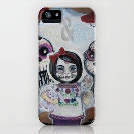 Sugar Skull Song Part 2: Lola y Lolo 2011 iPhone Case