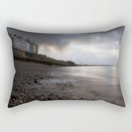 Criccieth beach Rectangular Pillow