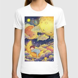 Sleeping in the moonlinght T-shirt