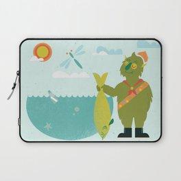 Harold Goes Fishing Laptop Sleeve