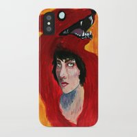 predator iPhone & iPod Cases featuring Predator by Taylor Crockett
