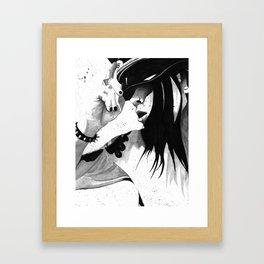 Good Sir Framed Art Print
