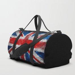 UK Grunge flag Duffle Bag
