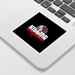 Killing Kardashian Sniper Logo Sticker