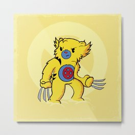 Carebearine Metal Print