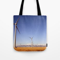 Windmill Country Tote Bag