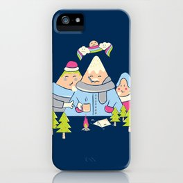 Cold Mountain iPhone Case