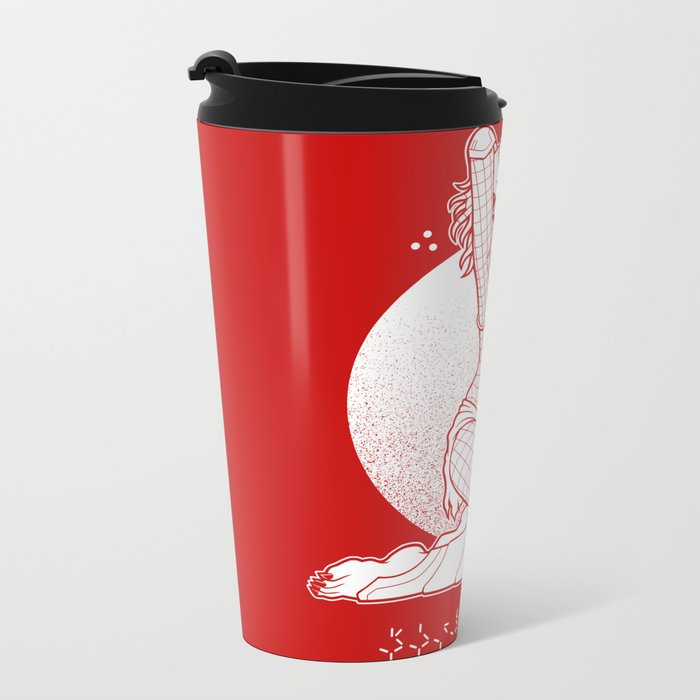 Sexual Predator Metal Travel Mug