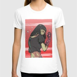 Ready to rumble - Cyberpunk girl T-shirt