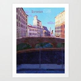 The Morning Walk Art Print