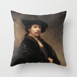 Self-portrait at 34 Throw Pillow