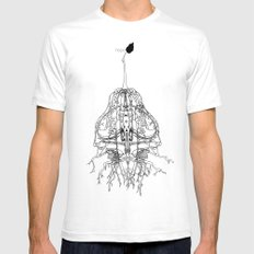 Hope White SMALL Mens Fitted Tee